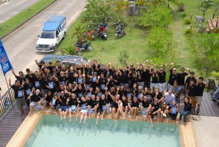PADI IDC, Diving, Courses