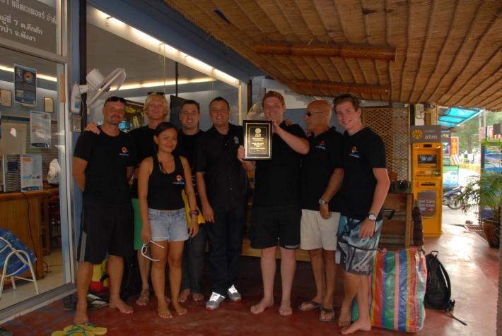 Management Khao Lak Scuba Adventures, PADI Diving.