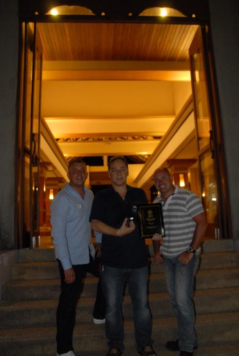 Three PADI course directors.