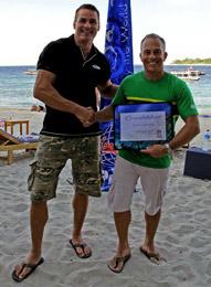 Hans and Simon Liddiard Trawangan Dive 26.8.13