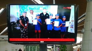 Kids Scuba KLIA airport screen shot