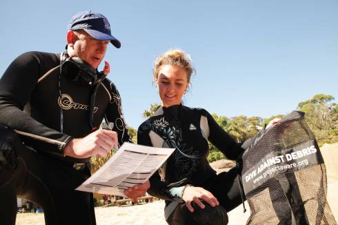 Project AWARE Dive Against Debris Specialty