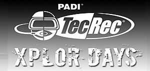 PADI TecRec Xplor Days