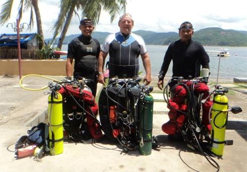 PADI Tec Trimix Diving in The Philippines