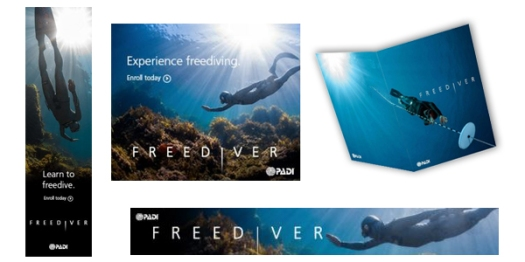 Freediver Marketing Support