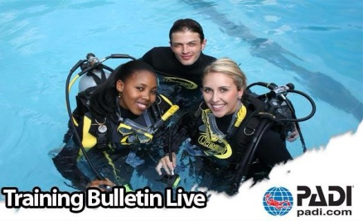 PADI Training Bulletin Live