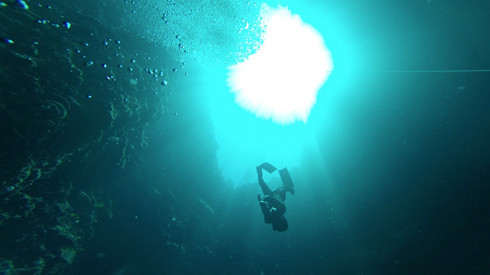 Freediving, Blue Hole