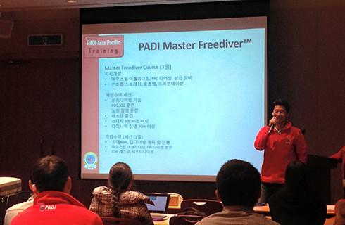PADI freediver seminar