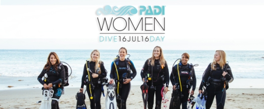 PADI Women's Dive Day 2016
