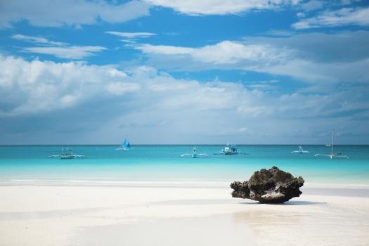 Boracay-Beach-White Sand- Philippines